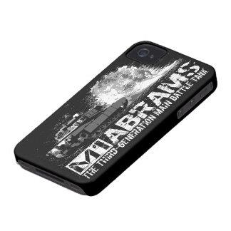 Caso del iPhone 4 de M1 Abrams Funda Para iPhone 4