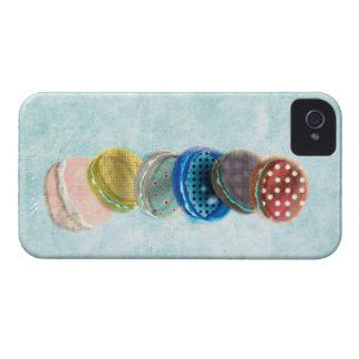 Caso del iphone 4 de Macarons - caso del iphone 4s Carcasa Para iPhone 4