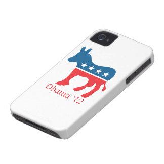 Caso del iPhone 4 de Obama 12 Case-Mate iPhone 4 Protectores