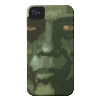 Caso del iPhone 4 de Obama del zombi de Halloween iPhone 4 Case-Mate Cárcasas