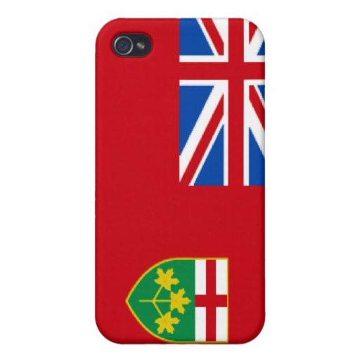 Caso del iPhone 4 de Ontario iPhone 4 Fundas