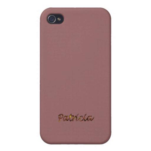 Caso del iphone 4 de Patricia iPhone 4 Carcasa