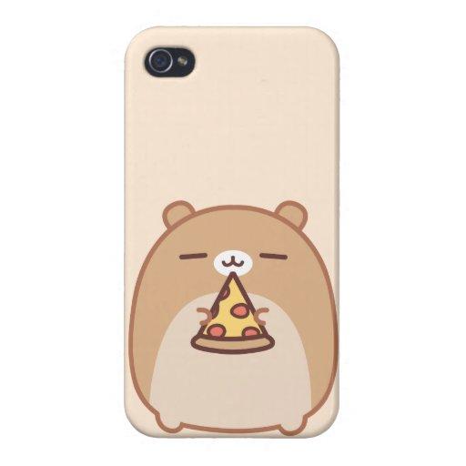 Caso del iPhone 4 de Psushi de la pizza iPhone 4 Funda