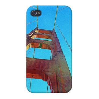 Caso del iPhone 4 de puente Golden Gate iPhone 4/4S Funda