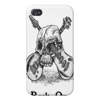 Caso del iPhone 4 de Rockstar iPhone 4/4S Carcasas