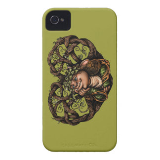 "Caso del iPhone 4 de ""Romant-Ik"" Barely There Case-Mate iPhone 4 Coberturas"