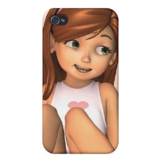 Caso del iPhone 4 de Sadie del día de padres iPhone 4 Protector