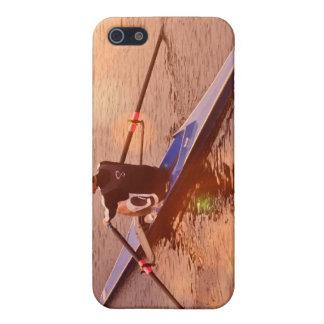 Caso del iPhone 4 de Sculling iPhone 5 Cárcasa