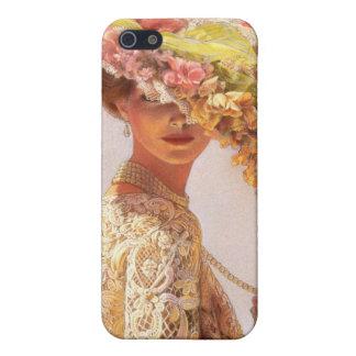 Caso del iPhone 4 de señora Victoria iPhone 5 Fundas