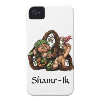 "Caso del iPhone 4 de ""Shamr-Ik"" Barely There Carcasa Para iPhone 4 De Case-Mate"