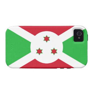 Caso del iPhone 4 de Tough™ de la bandera de Burun Case-Mate iPhone 4 Carcasa