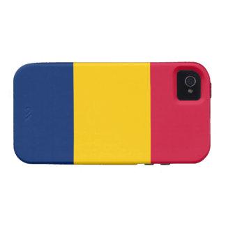 Caso del iPhone 4 de Tough™ de la bandera de Case-Mate iPhone 4 Fundas