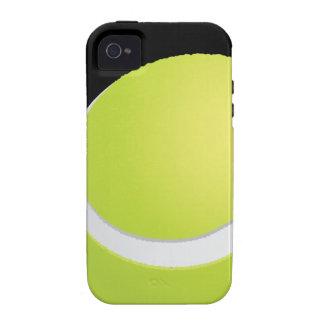 Caso del iPhone 4 de Tough™ de la pelota de tenis iPhone 4/4S Fundas