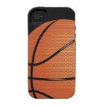 Caso del iPhone 4 de Tough™ del baloncesto iPhone 4/4S Fundas