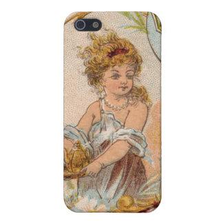 Caso del iphone 4 de Venus de la diosa del vintage iPhone 5 Fundas