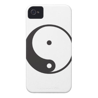 Caso del iPhone 4 de Ying Yang iPhone 4 Case-Mate Protector