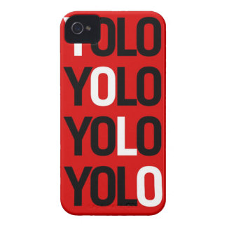 Caso del iPhone 4 de Yolo iPhone 4 Case-Mate Funda