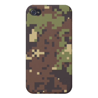 Caso del iPhone 4 del acosador de la selva iPhone 4 Protector