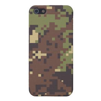 Caso del iPhone 4 del acosador de la selva iPhone 5 Carcasas