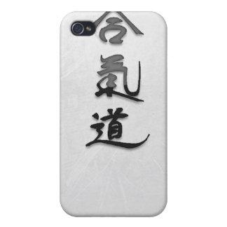 Caso del iPhone 4 del Aikido iPhone 4 Funda