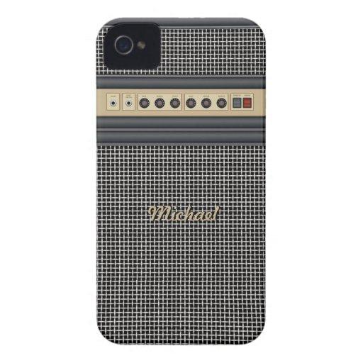 Caso del iPhone 4 del amplificador de sonidos de l iPhone 4 Fundas