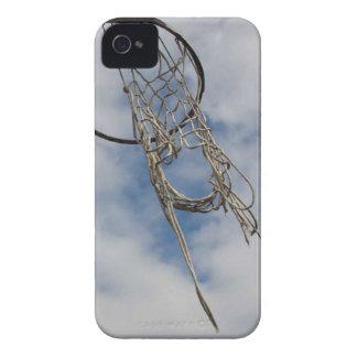 Caso del iphone 4 del aro de baloncesto iPhone 4 cobertura