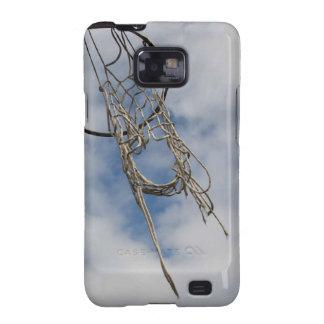 Caso del iphone 4 del aro de baloncesto galaxy s2 carcasa