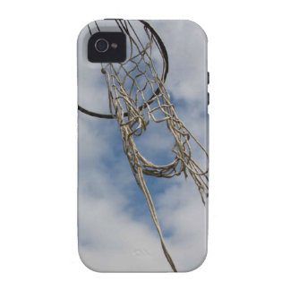 Caso del iphone 4 del aro de baloncesto iPhone 4 funda