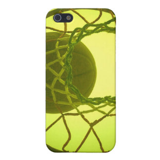 Caso del iPhone 4 del aro de baloncesto iPhone 5 Protector