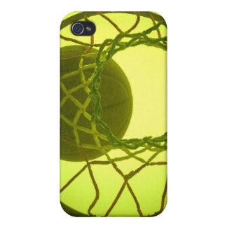 Caso del iPhone 4 del aro de baloncesto iPhone 4 Cárcasas