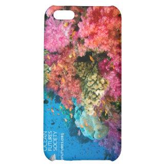 Caso del iPhone 4 del arrecife de coral