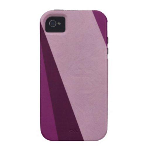 Caso del iPhone 4 del arte con el papel pintado a Case-Mate iPhone 4 Carcasa