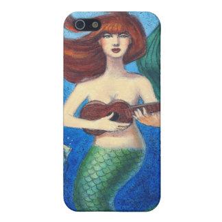 Caso del iphone 4 del arte de la fantasía, sirena  iPhone 5 carcasas