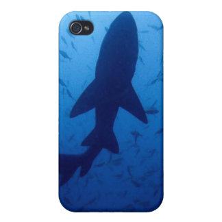 Caso del iPhone 4 del ataque del tiburón iPhone 4/4S Carcasas