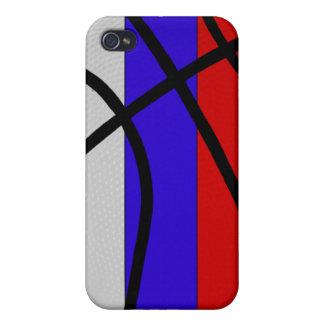 Caso del iPhone 4 del baloncesto de Rusia iPhone 4 Protector