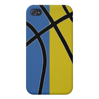 Caso del iPhone 4 del baloncesto de Ucrania iPhone 4 Protectores