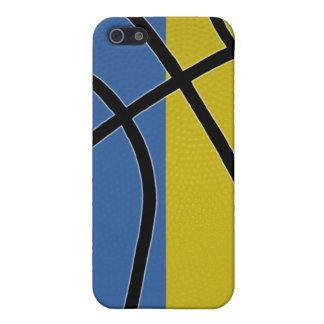 Caso del iPhone 4 del baloncesto de Ucrania iPhone 5 Cárcasas