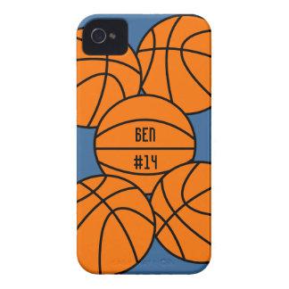 Caso del iPhone 4 del baloncesto iPhone 4 Case-Mate Cárcasas