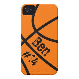 Caso del iPhone 4 del baloncesto iPhone 4 Protectores