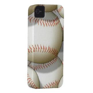 Caso del iPhone 4 del béisbol iPhone 4 Case-Mate Funda
