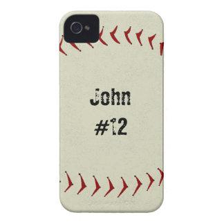 Caso del iPhone 4 del béisbol Case-Mate iPhone 4 Cárcasa