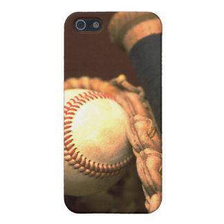 Caso del iPhone 4 del béisbol y del palo iPhone 5 Carcasas