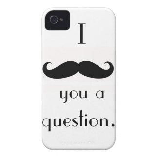 Caso del iPhone 4 del bigote Case-Mate iPhone 4 Protector