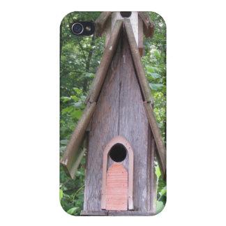 Caso del iPhone 4 del Birdhouse iPhone 4/4S Carcasa