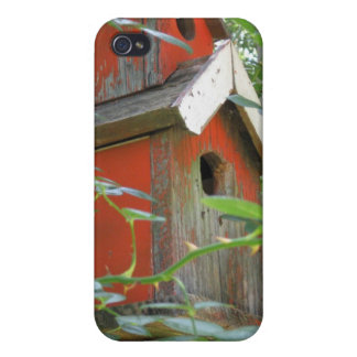 Caso del iPhone 4 del Birdhouse iPhone 4/4S Fundas