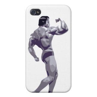 Caso del iPhone 4 del Bodybuilder iPhone 4/4S Carcasa