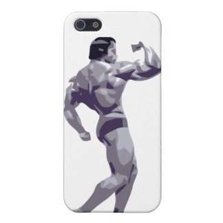 Caso del iPhone 4 del Bodybuilder iPhone 5 Funda