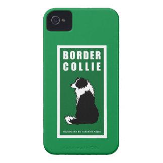 Caso del iPhone 4 del border collie iPhone 4 Carcasa