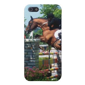 Caso del iPhone 4 del caballo de Grand Prix iPhone 5 Cárcasa