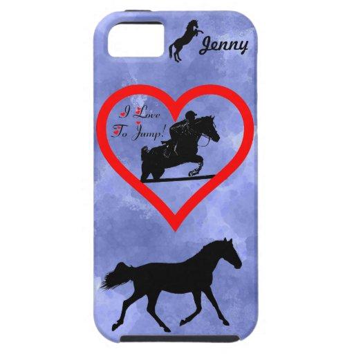 Caso del iPhone 4 del caballo del puente del Funda Para iPhone 5 Tough